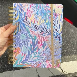 "Lilly Pulitzer ""to-do"" planner kaleidoscope coral"